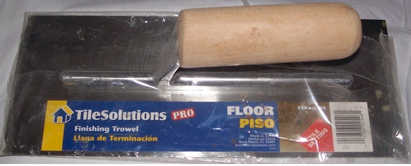 "12"" Tile Solutions Pro Finishing Trowel"
