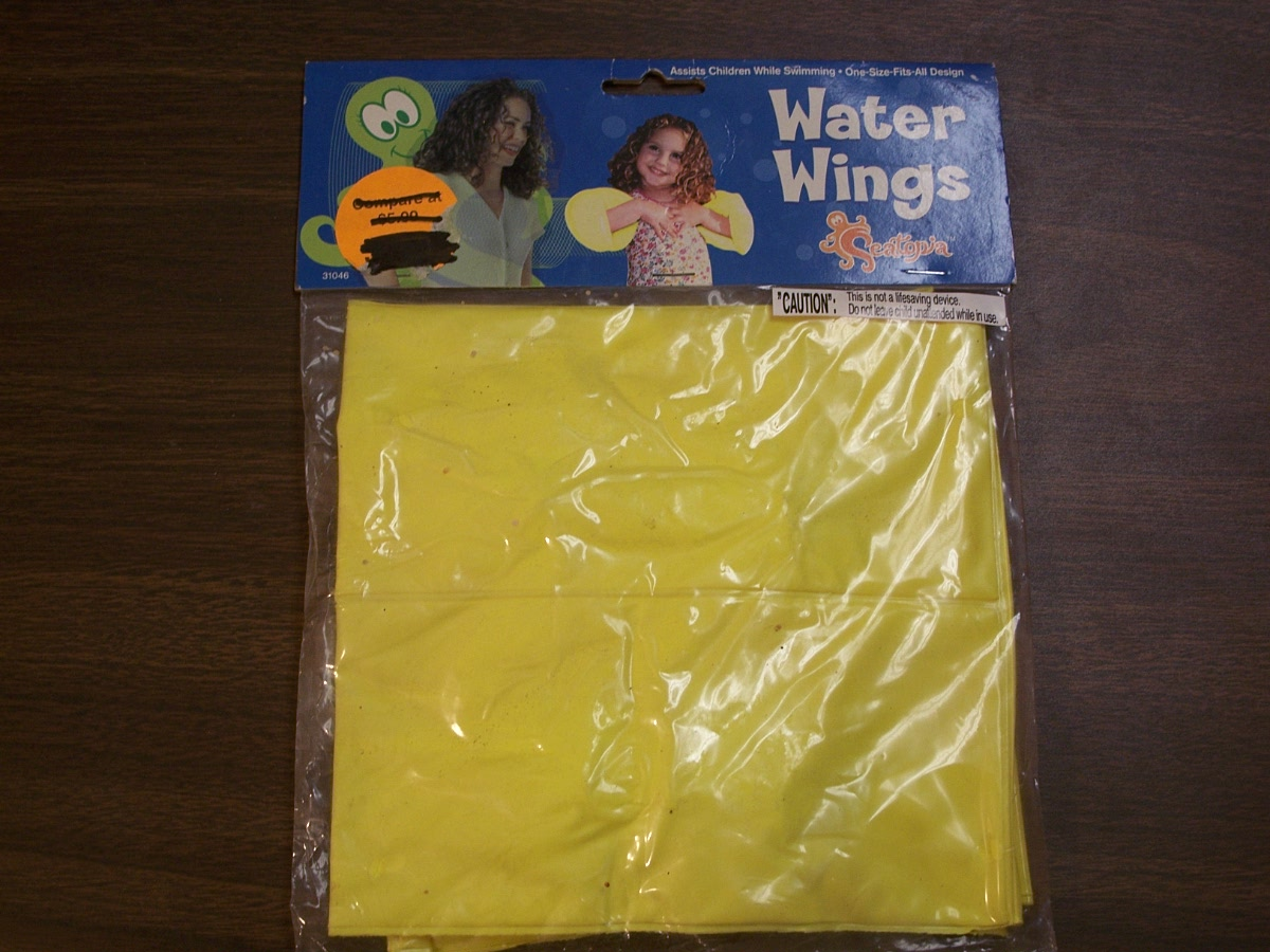 Seatopia Water Wings (yellow)