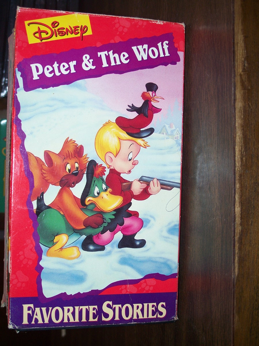 Disney Peter & The Wolf (used)