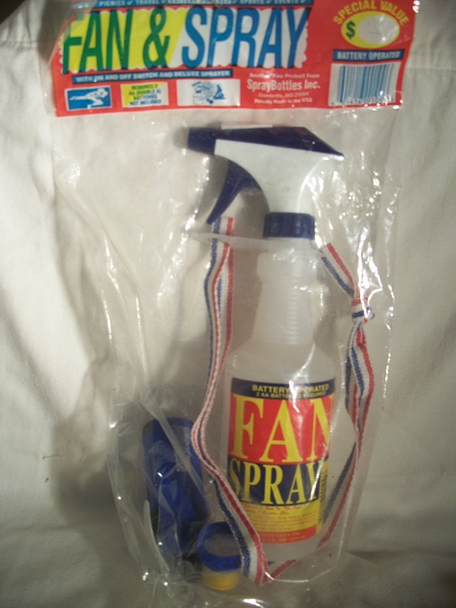 Fan & Spray Set