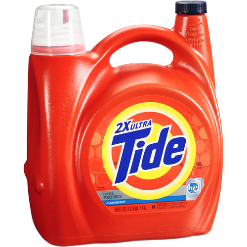 Tide 2x Ultra For He Machines Clean Breeze Liquid Laundry Deterg